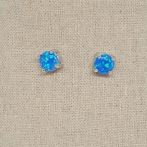 Jewelry - Sterling Silver Round Stud Earrings